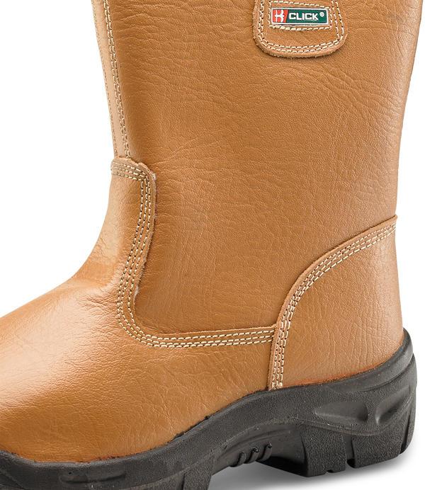 Click Rigger Boot Fur Lined SUP Steel Toe Cap - Size 7 8ck2jMVj