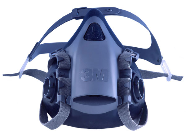 3M 7502 MED SILICONE HALF MASK - 7502