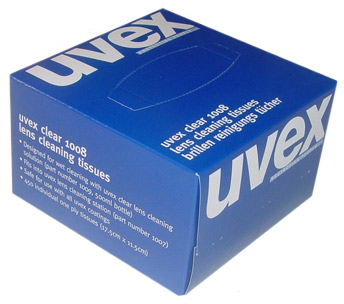 UVEX CLEANING TISSUES 450/BOX - 9991-000