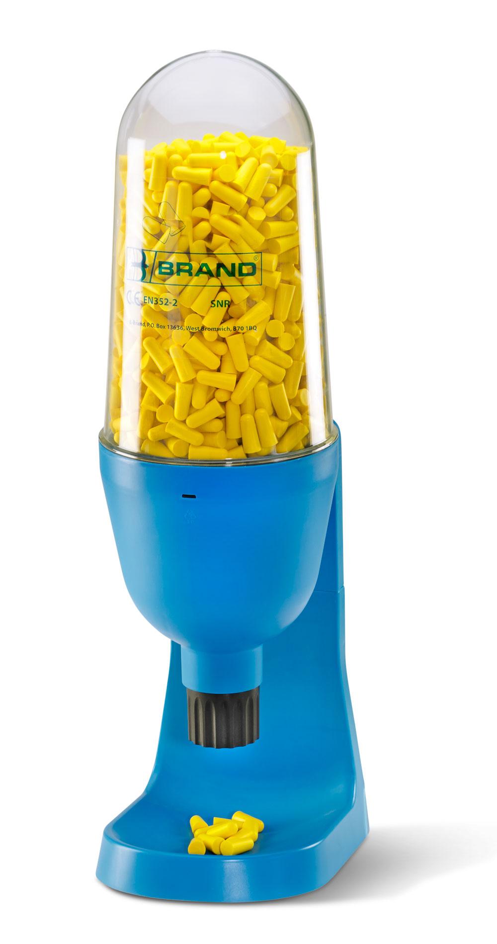 Bbep500ds B Brand Ear Plug Dispenser 500 Yellow