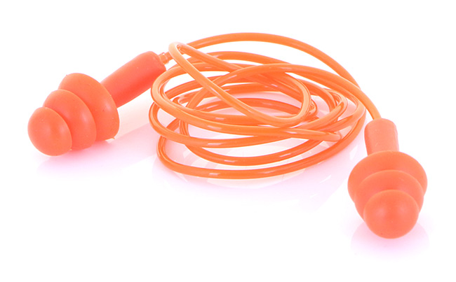 B-BRAND CORDED MOULDED EAR PLUGS - BBEP60C