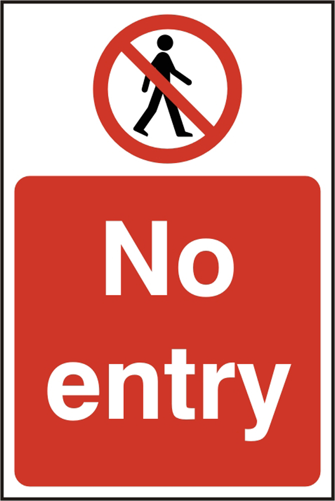 Bss11630 No Entry Sign Beeswift Manufacturer And