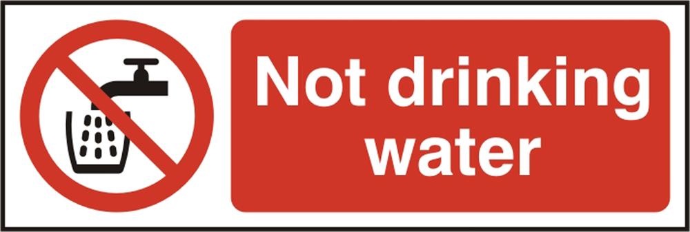 Bss11676 Not Drinking Water Sign Beeswift