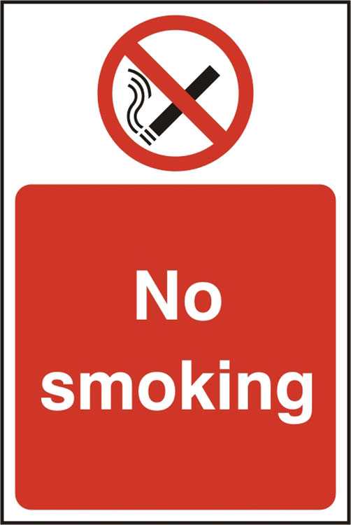 NO SMOKING SIGN - BSS11810