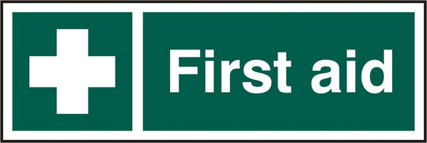 Signs Safety First First Aid Sign Bss12051