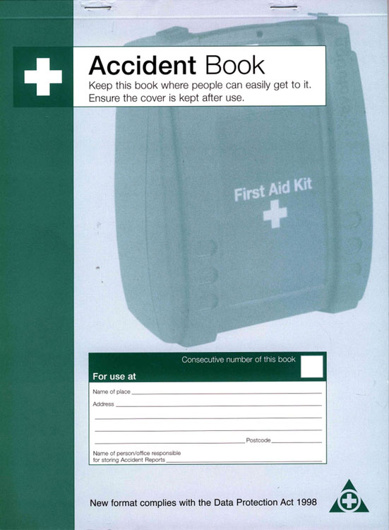 DPA COMPLIANT ACCIDENT BOOK - CM1324