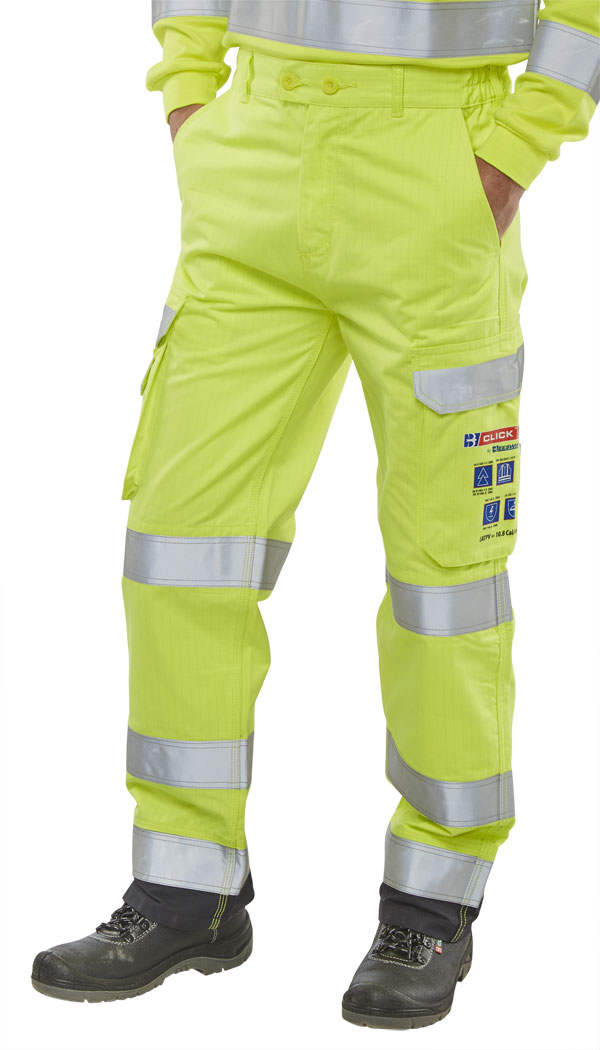 ARC FLASH HI VIZ TROUSERS - CARC5SYN