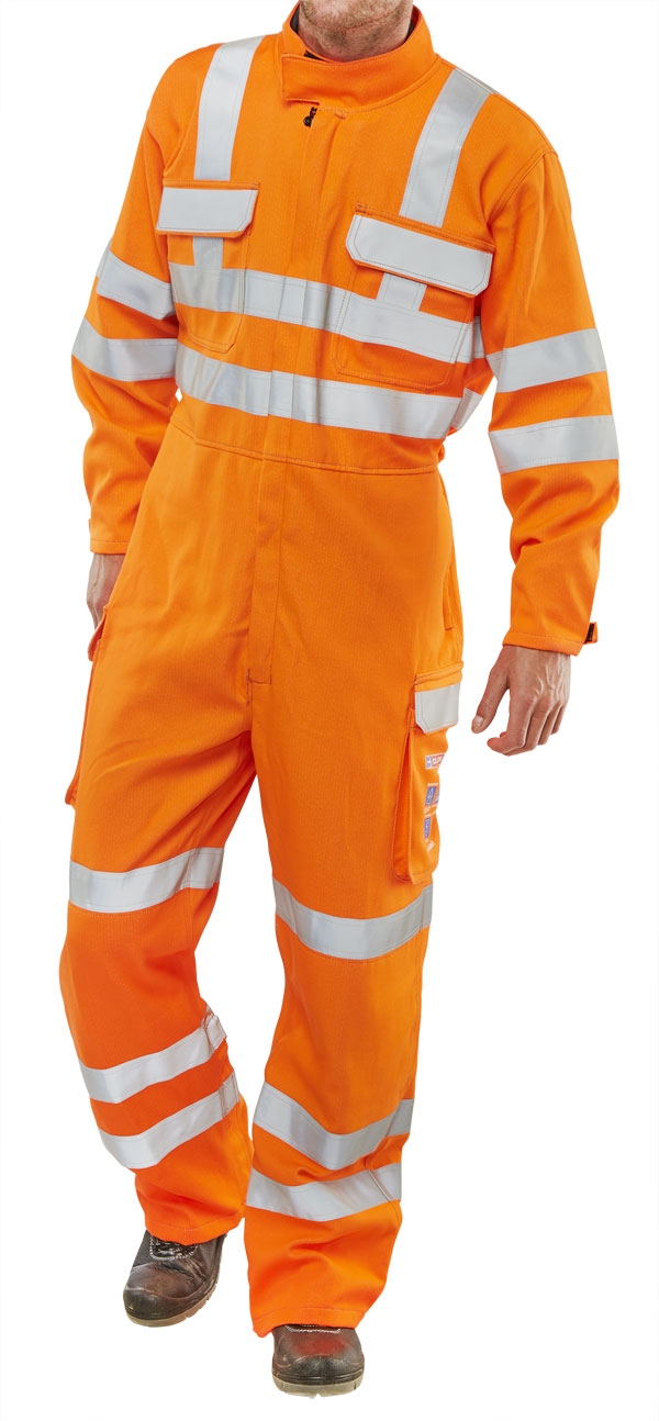 ORANGE ARC COMPLIANT RIS COVERALL - CARC153