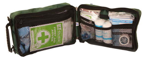 BS8599 FIRST AID KIT M IN SOFT CARRY CASE - CFABSMB
