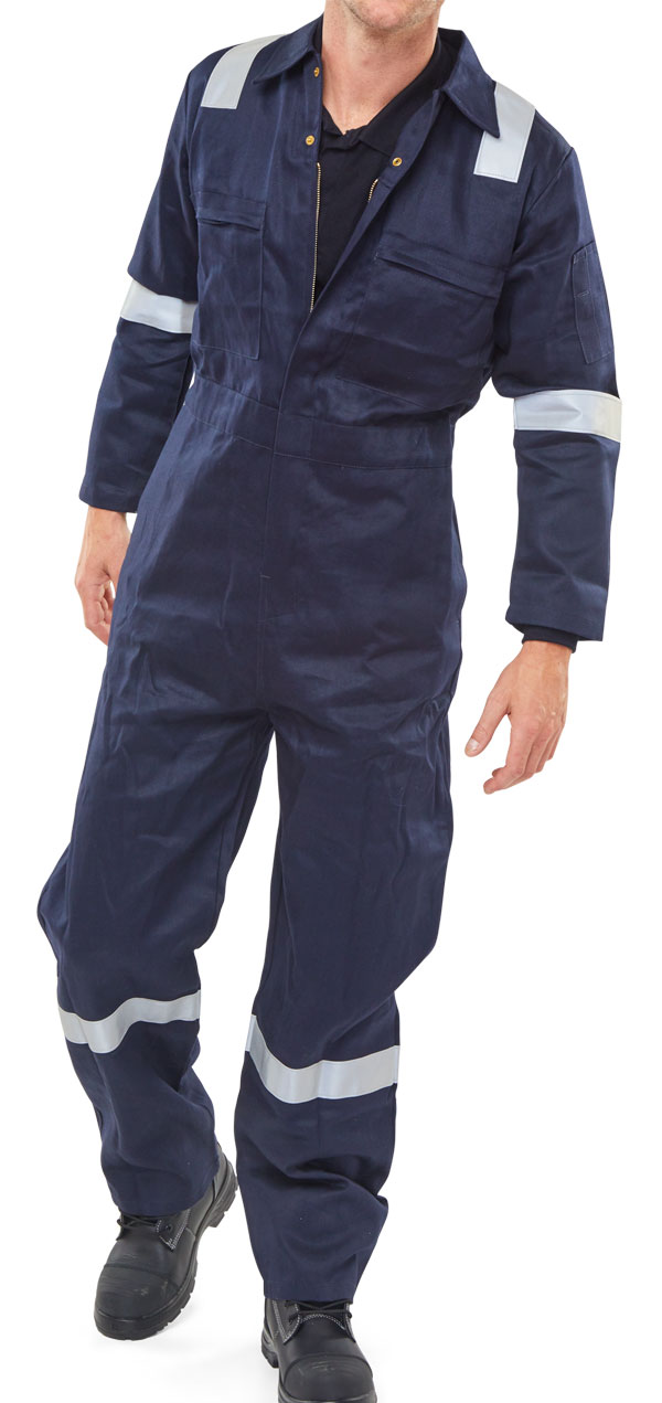 FR BURGAN BOILERSUIT ANTI-STATIC - CFRASBBSN