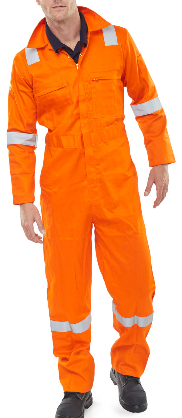 FR BURGAN BOILERSUIT ANTI-STATIC - CFRASBBS