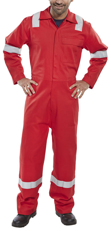 FIRE RETARDANT ANTI-STATIC ELDRID BOILERSUIT - CFRASBSND