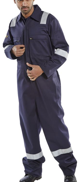 FIRE RETARDANT ANTI STATIC ERSKINE BOILERSUIT - CFREBS