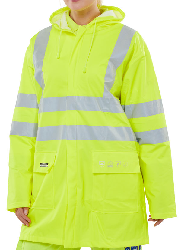 FIRE RETARDANT ANTI-STATIC JACKET - CFRLR55SY