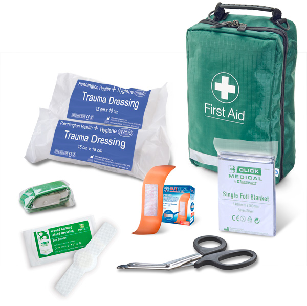 BS8599-1:2019 CRITICAL INJURY PACK LOW RISK IN BAG - CM0081