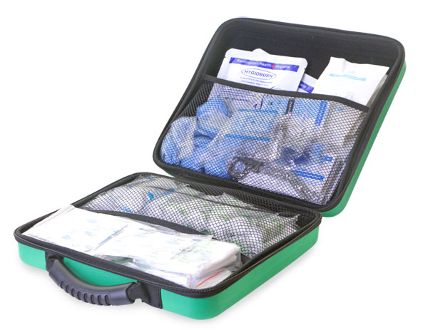 BS8599-1 LARGE FIRST AID KIT IN LARGE FEVA CASE - CM0269
