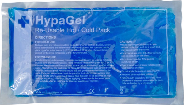 HOT / COLD GEL PACK LARGE RE-USABLE   - CM0375