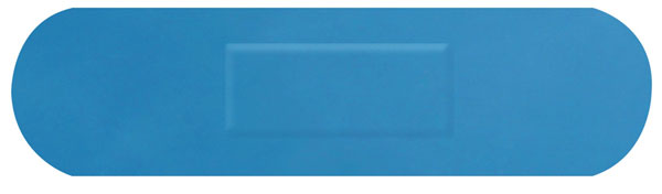 DETECTABLE MEDUIM STRIP PLASTERS 100 - CM0504