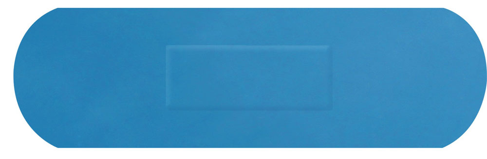 DETECTABLE SENIOR STRIP PLASTERS 100 - CM0506
