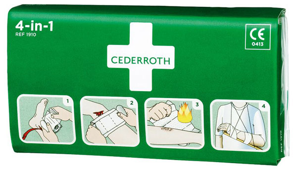 CEDERROTH 4 IN 1 BLOODSTOPPER  - CM0735