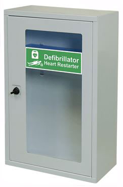 INDOOR DEFIBRILLATOR CABINET WITH THUMB LOCK - CM1225