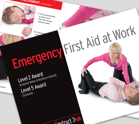 EMERGENCY FIRST AID AT WORK BOOK - CM1316