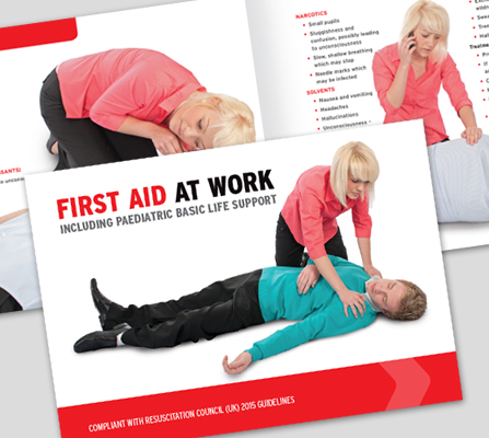 FIRST AID AT WORK BOOK - CM1317