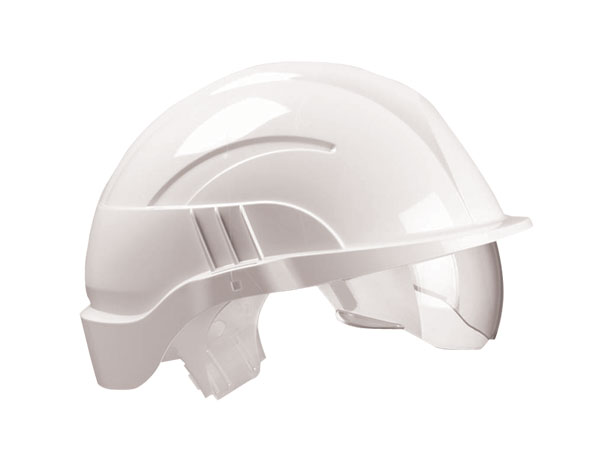 VISION PLUS SAFETY HELMET  INTEGRATED VISOR - CNS10PLUSEWA