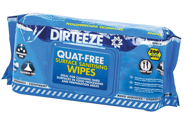 ANTI-BACTERIAL WIPES (SOFT PACK) - DZAB200