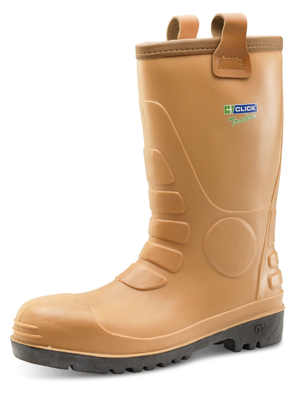 B-Click Traders PU//Rubber S3 Rigger Safety Boots