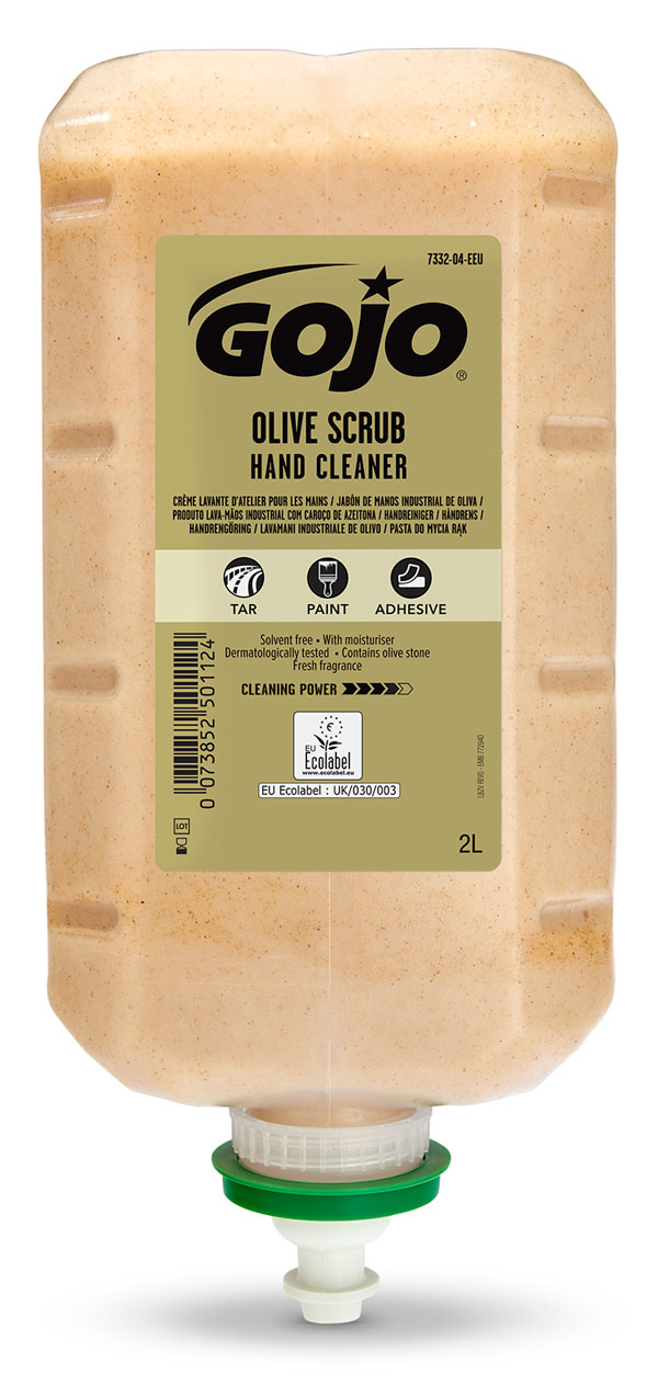 GOJO OLIVE SCRUB HAND CLEANER 4X 2000ML - GJ7332-04