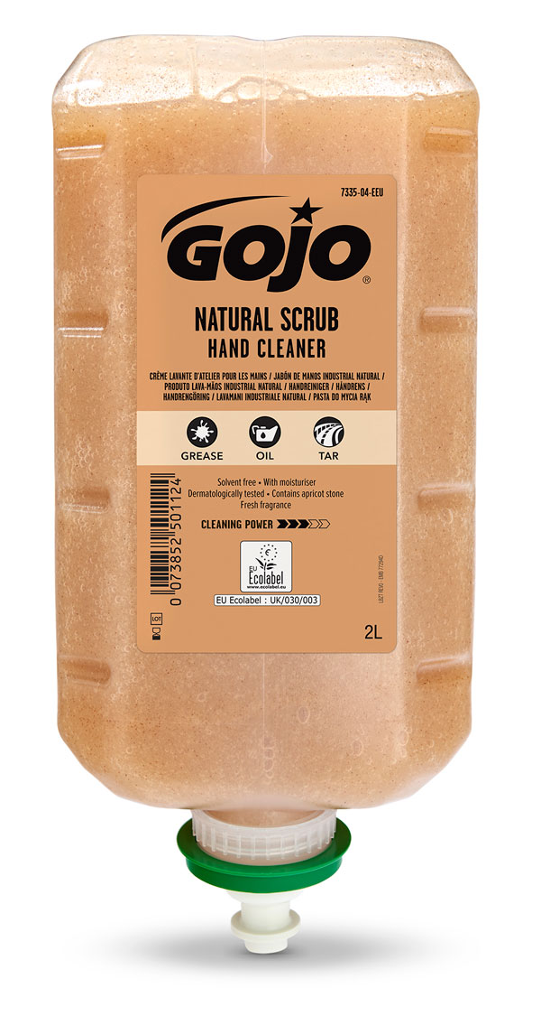 GOJO NATURAL SCRUB 4 X 2000ML  - GJ7335-04