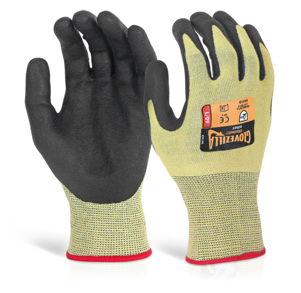 GLOVEZILLA NITRILE PALM COATED GLOVE - GZ06