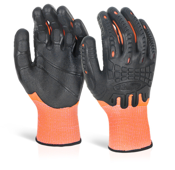 CUT RESISTANT FULLY COATED IMPACT GLOVE - GZ61
