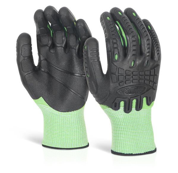 CUT RESISTANT FULLY COATED IMPACT GLOVE - GZ62