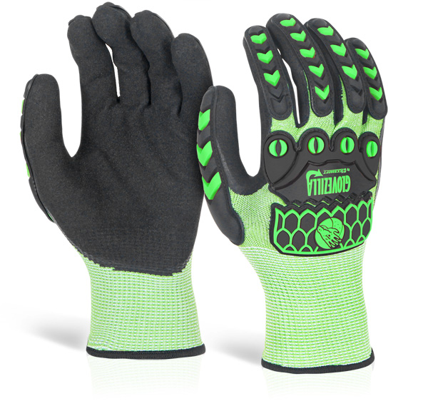 GLOVEZILLA FOAM NITRILE COATED GLOVE - GZ64