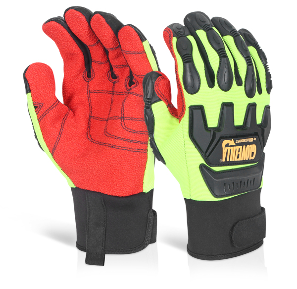 GLOVEZILLA MECHANICAL IMPACT GLOVE - GZ82