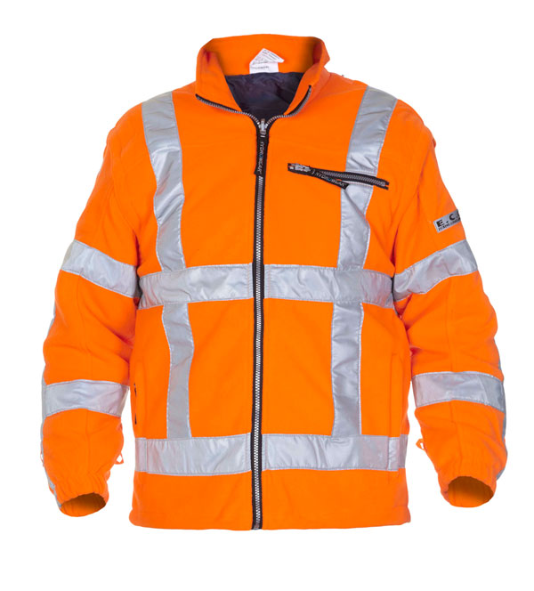 FRANEKER HIGH VISIBILITY FLEECE ORANGE - HYD04026FL