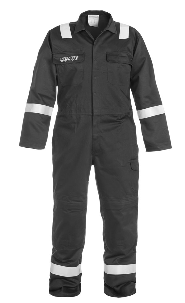 MIERLO MULTI CVC FLAME RETARDANT ANTI-STATIC COVERALL  - HYD043500
