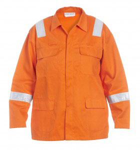MELK MULTI CVC FLAME RETARDANT ANTI-STATIC JACKET  - HYD043505OR