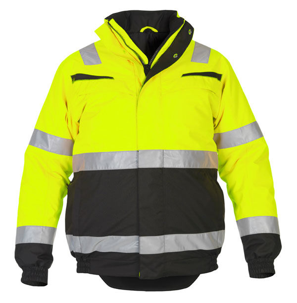MORPETH MULTI CVC WATERPROOF HIGH VISIBILITY FIXED LINING PILOT JACKET - HYD043730SYBL