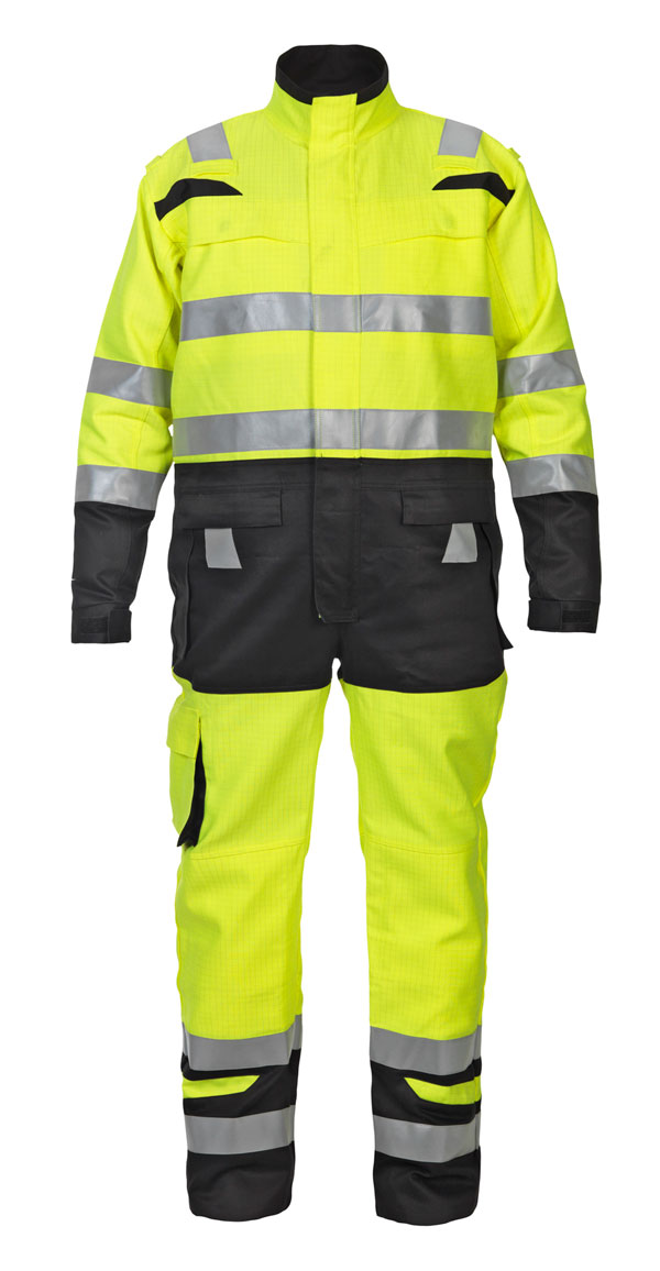 HOVE HIGH VISIBILITY TWO TONE COVERALL - HYD048471