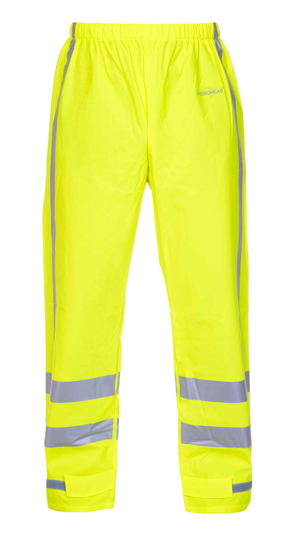 NAGOYA MULTI HYDROSOFT FLAME RETARDANT ANTI-STATIC HIGH VISIBILITY WATERPROOF TROUSERS - HYD064064