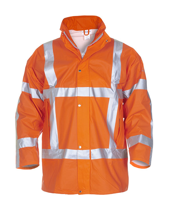 NEER MULTI HYDROSOFT FLAME RETARDANT ANTI-STATIC HIGH VISIBILITY WATERPROOF PARKA  - HYD065850