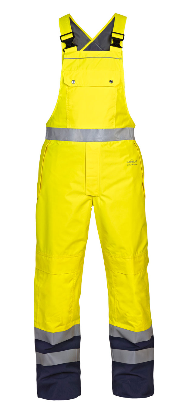 UTTING SNS HIGH VISIBILITY WATERPROOF BIB & BRACE - HYD072260