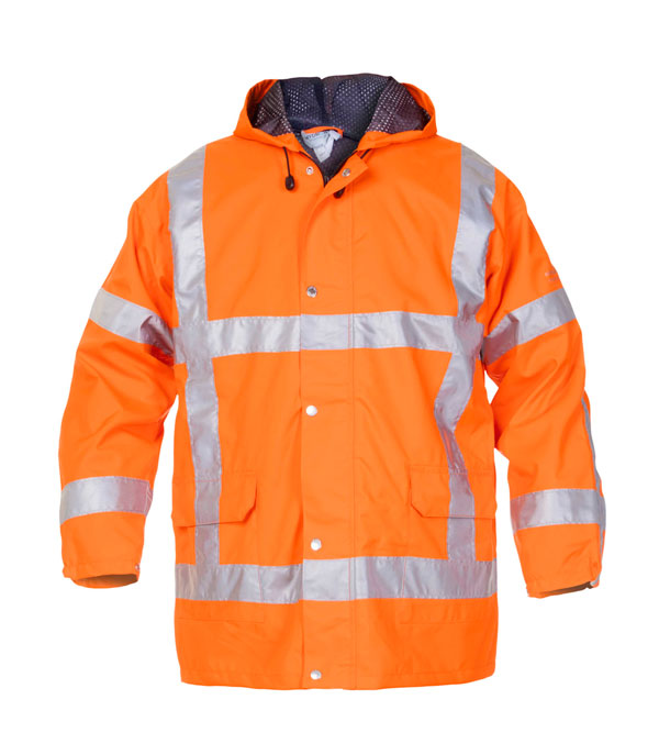 UITDAM SNS HIGH VISIBILITY WATERPROOF JACKET - HYD072370