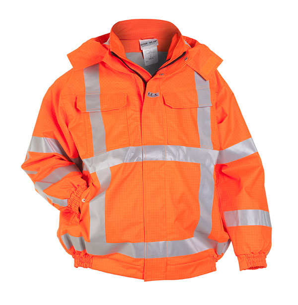 MOERS MULTI SNS FLAME RETARDANT ANTI-STATIC HIGH VISIBILITY WATERPROOF PILOT JACKET - HYD073400
