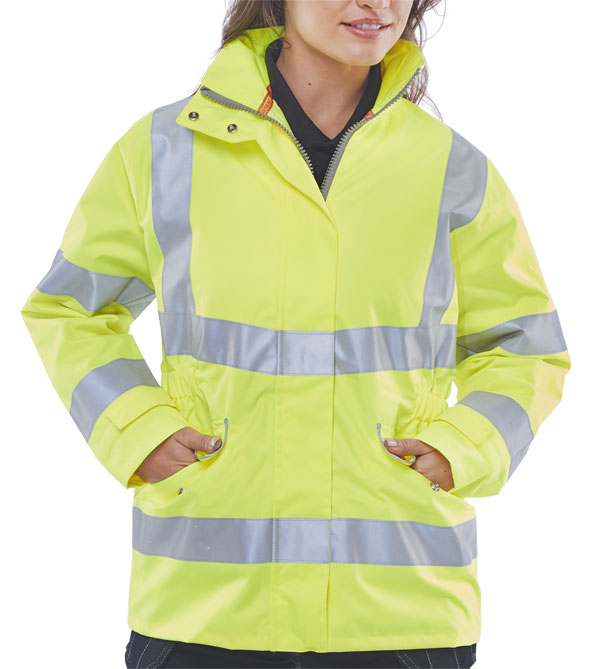 LADIES EXECUTIVE HI-VIZ JACKET - LBD30