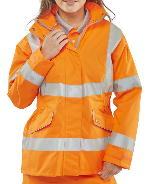 LADIES EXECUTIVE HI-VIZ JACKET - LBD35
