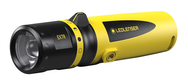 LEDLENSER EX7R INTRINSICALLY SAFE RECHARGEABLE TORCH - LED500837